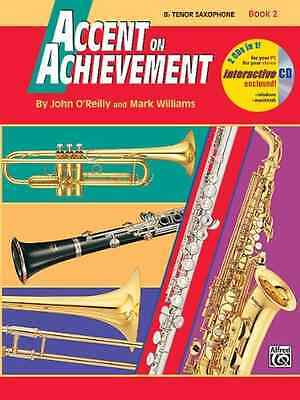 0018262 Accent On Achievement Volume 2 Bb Tenor Sax Pure Whiteness Instruction Books, Cds & Video Musical Instruments & Gear Hot Sale Alfred Publishing Co