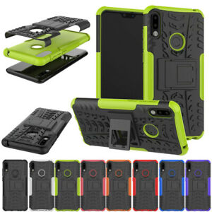 new style 7ec7c c2ba5 Details about For Asus Zenfone Max Pro M2 ZB631KL Case Armor Rubber Hard  Kickstand Back Cover