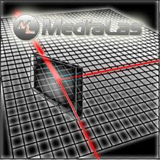 Strahlteiler Spiegel 15x15x1mm 50:50 Dielektrisch MediaLas Laser Beamsplitter