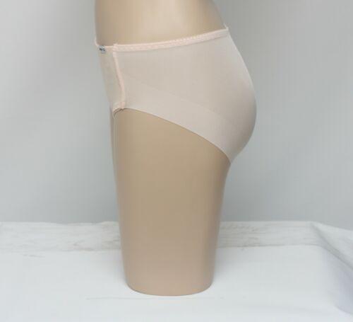 Korea Woman Artificial Silk Nude Line Mesh Panties 2EA Stomach Correction 1 + 1