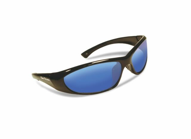 Smoke Flying Fisherman 7812BS Maverick Polarized Sunglasses Black