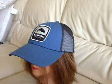 Blue Stream Simms Trout Patch Trucker Hat