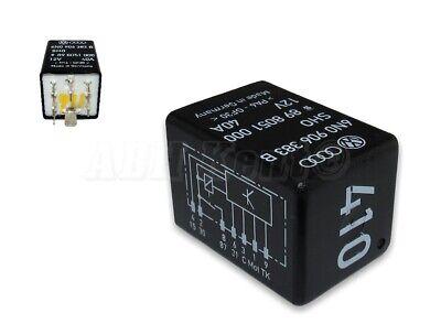 410 6N0906383A SHO 898956000 12V 40A 116-VW Polo Lupo Fuel Pump 7-Pin Relay No