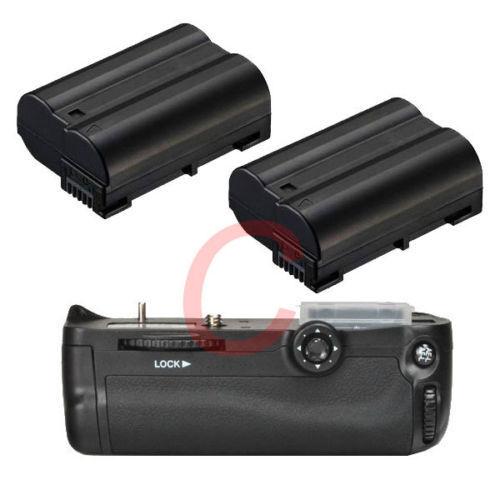 Battery Grip Holder For Nikon D7000 DSLR as MB-D11 + 2x Decode Powerful Battery