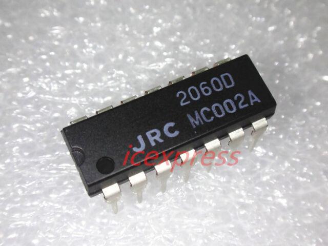 5PCS NJM2060D 2060D JRC2060D DIP-14