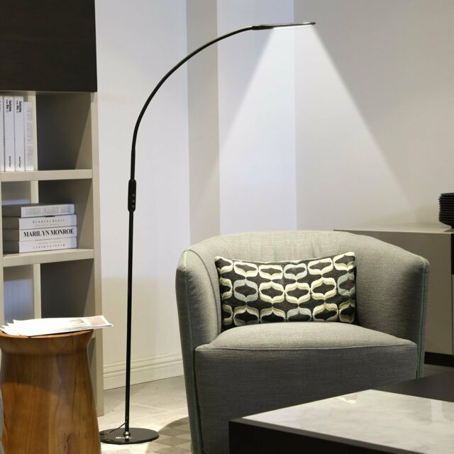 IMIGY Dimmable 9W Floor Lamp, Office/Work/Living Room Reading Flexible  Gooseneck