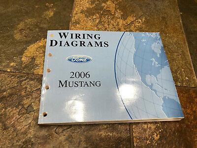 06 mustang wiring diagram 2006 ford mustang wiring diagrams electrical service manual ebay  2006 ford mustang wiring diagrams