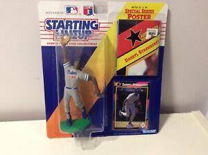 1992 Darryl Strawberry LA Dodgers Starting Lineup Original Sealed Packaging