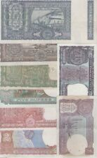 Xxx India Old Issue of 100+10+5( 4 DEER) + 5 + 2 + 2 + 1 + 1 = 8 Notes