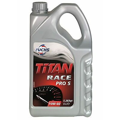 Fuchs Titan Race Pro S 10W60 Fully Synthetic Engine Oil 5 Litres, BMW