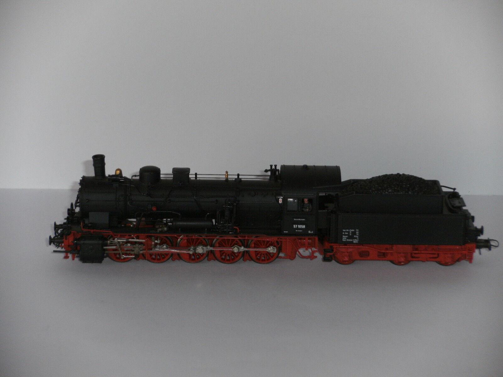 Roco H0 43230 Dampflok   Rarität Rarität Rarität   der DR mit Lokführer Super Zustand    Ausreichende Versorgung  b22dce
