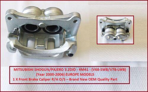 Avant Étrier De Frein R//H Pour Mitsubishi Shogun//Pajero 3.2DID V68//V78//V88 02//2000