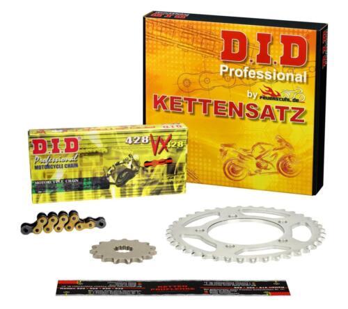 DID VX X-ring g/&b Boutons Kettensatz HONDA XL 185 S l185s