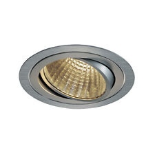 Intalite nuevo Tria Downlight LED Redondo DL Set, Alu Cepillado, 25W, 30