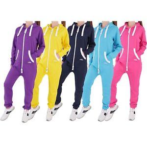 Finchgirl-Damen-Jumpsuit-Jogger-Einteiler-Jogging-Anzug-Trainingsanzug-Overall