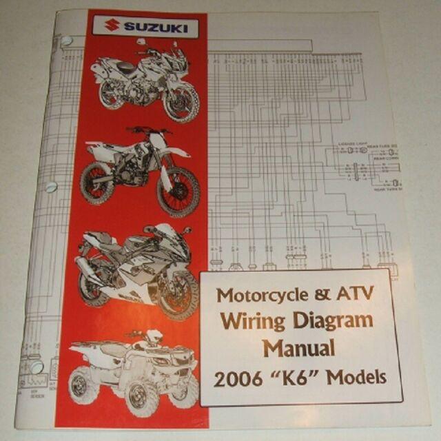 2006 Suzuki Wiring Diagram Manual Gsxr Gsx Dr Vs Gsf Vs