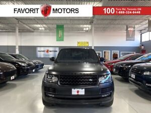 2017 Land Rover Range Rover SUPERCHARGED V8|510HP|HEADSUP|NAV|MERIDIAN|AMBIENT