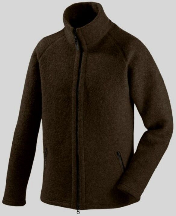 Mufflon Cole, Woollen Cardigan for Men, Merino Wool, Brown