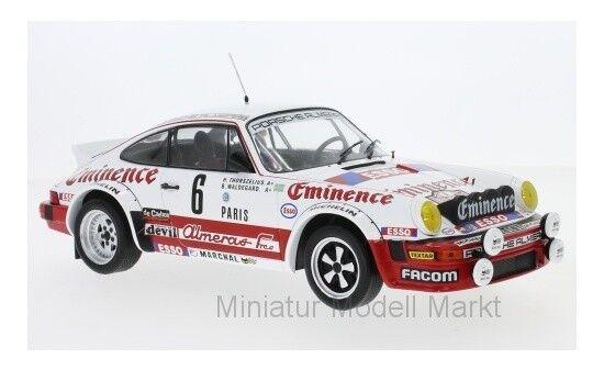 Rmc008 - Ixo Porsche 911 SC eminence-Rally Monte Carlo 1982 - 1 18