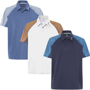 Oakley-434032-Men-039-s-Aero-Motion-Sleeve-Golf-Polo-Shirt-Pick-Size-amp-Color
