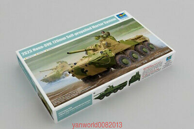 russian 2S23 Nona-SVK 120mm Self-propelled Mortar System 1:35 Trumpeter 09559