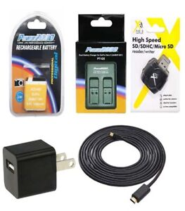 Battery-AABAT-001-Charger-HDMI-Cable-Kit-for-GoPro-HERO5-HERO6-HERO7