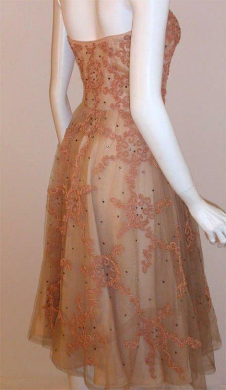 CEIL CHAPMAN 1960s Vintage Cocktail Dress - image 5