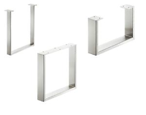 Häfele piede tavolo struttura tabella bankkufe acciaio inox