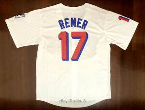 Doug-Remer-17-Milwaukee-Beers-Movie-Men-039-s-Baseball-Jersey-Stitched