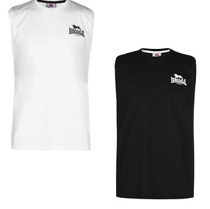 Lonsdale Vest Top Ärmelloses T-Shirt Herren Tank Sportshirt Tshirt 8019