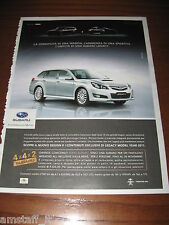 *AH95=SUBARU LEGACY=PUBBLICITA'=ADVERTISING=WERBUNG=COUPURE=