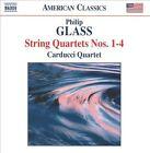 Philip Glass: String Quartets Nos. 1-4 (CD, Jun-2010, Naxos (Distributor))