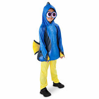 Disney Store Authentic Finding Dory 3pc Dress Up Costume For Kids Size 3 4 5/6