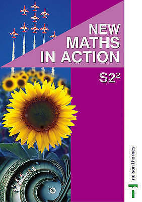 1 of 1 - New Maths in Action S2/2 Pupil's Book by Edward C. K. Mullan (Paperback, 2003)
