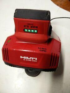 Chargeur  hilti  c 4/36/350 + 1 batterie B22   5,2 Ah