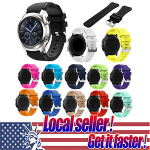 US-New-Sport-Rubber-Silicone-Replacement-Wrist-Band-For-Samsung-Galaxy-Gear-S3-x