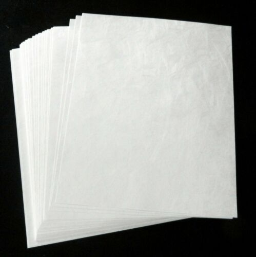 """Tyvex White Poster Can/'t Tear 10 BIG Sheets Banner Display Paper 25/"""" x 38/"""""""