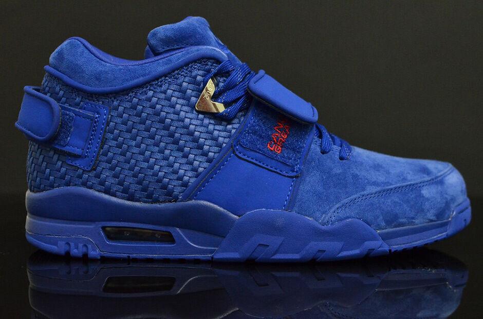 Nike Air Trainer Cruz PRM Rush Blue Size 13. 812637-400 Jordan