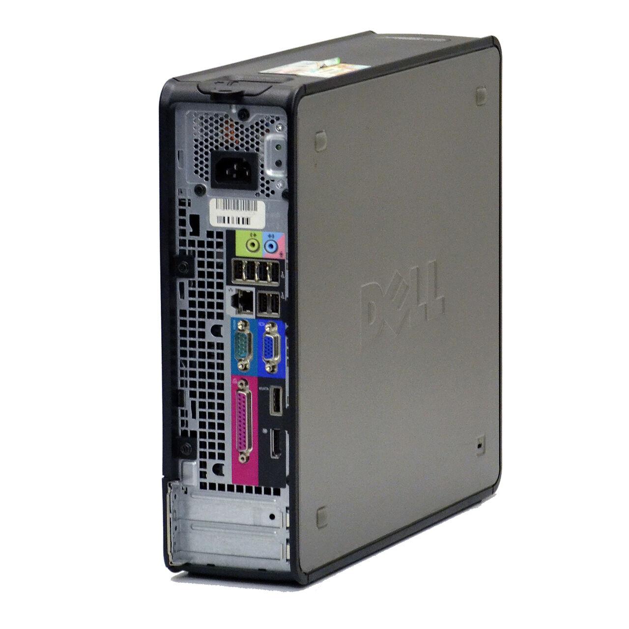 Dell Tower Desktop Computer Pc Core 2 Duo 4gb Ram 1tb Hard