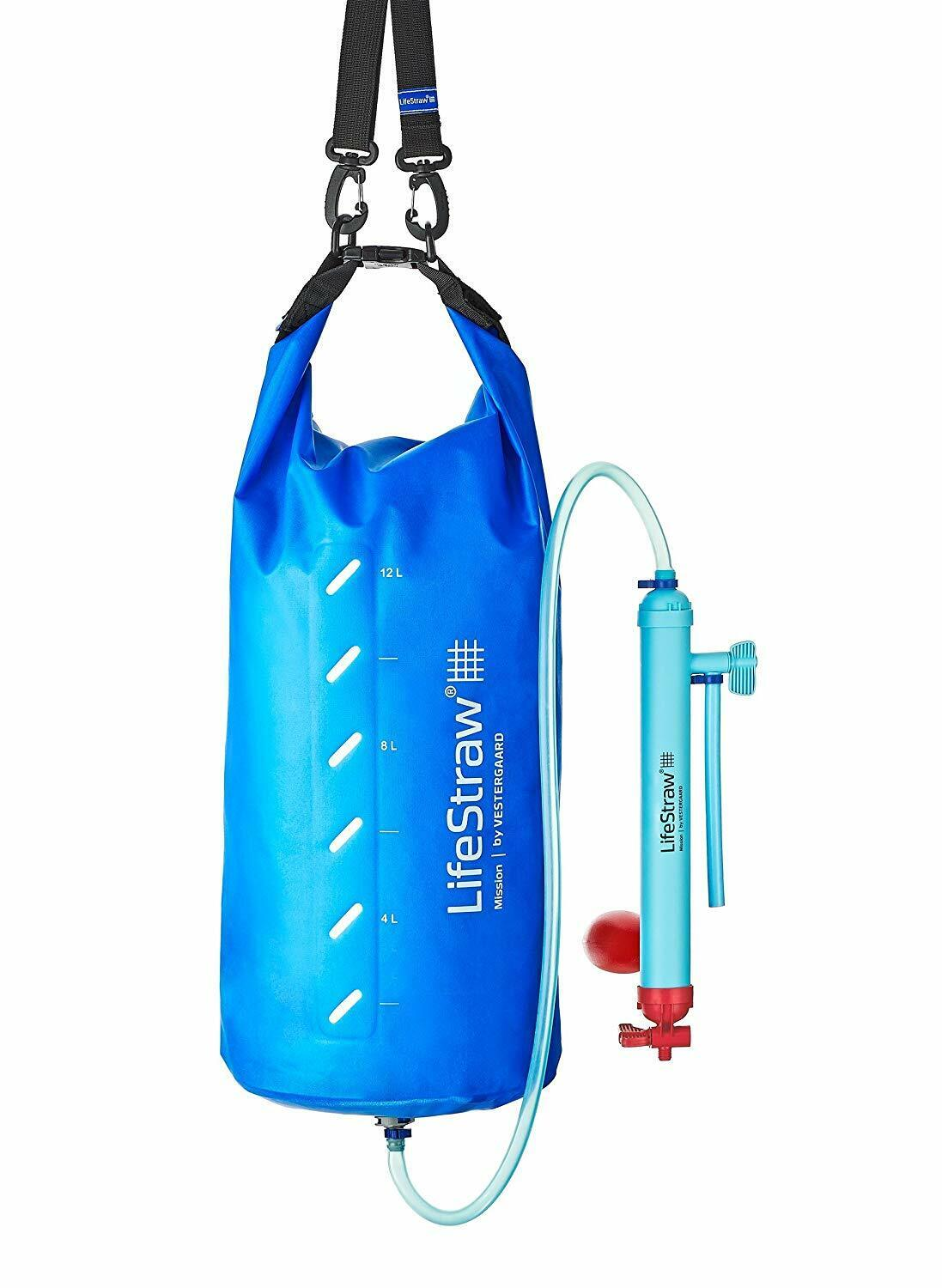 LifeStraw Mission Water Purification System 12 Liter Gravity Fed Purifier