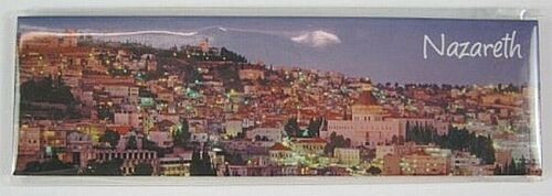 9 Nazareth Israel Magnet Souvenir 13 cm !,neu,Verkündigungskirche,Panorama,