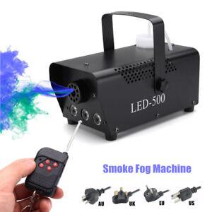 500W-MACCHINA-DEL-FUMO-FOG-RGB-LED-DJ-DISCO-STAGE-LIGHT-WIRELESS-REMOTO-Fogger