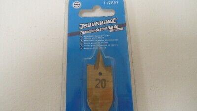 Titanium-coated Flat Bit 12mm Drilling Bits Silverline 508815 for sale online