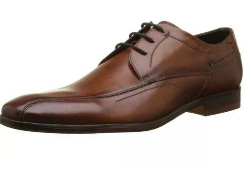 6.5 UK 40 EU Bugatti Men/'s 311294071100 Derbys Brown Cognac 6300