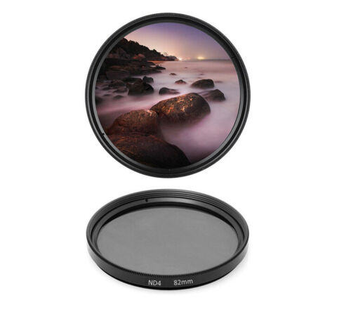 dHD Digital Brands ND4 Filter Grey Filter 82mm ND 4 Neutral Density 82 MM