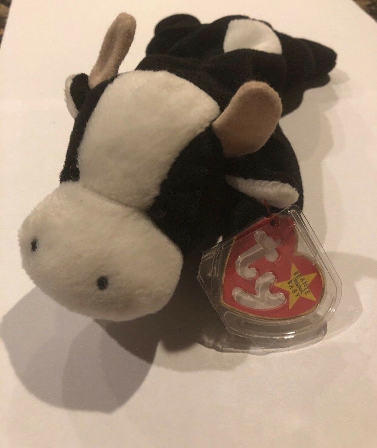 e0ef2db2e7a RARE TY Daisy The Cow Beanie Original Baby 1993 1994 Retired Collectible