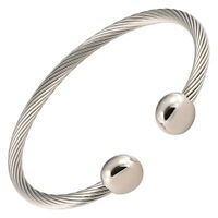 Magnetic Therapy Bracelet High Power Magnets For Health All Stainless Steel