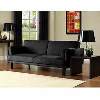 Microfiber Futon Sofa Bed Couch Living Room Seating Furniture Cover Full Sleeper