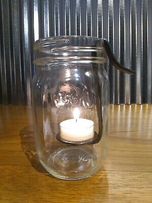Mason Jar Tea Light Holder