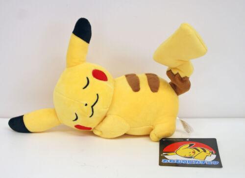 Pokemon Center Original Poupée Peluche Dormant Pikachu 203171